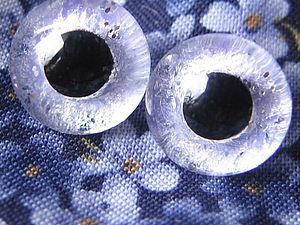Подбираем глазки игрушкам. Расписываем стеклянные глаза | Ярмарка Мастеров - ручная работа, handmade