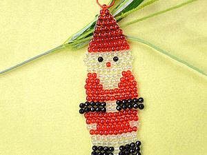 Как сделать Санта Клаус   Ярмарка Мастеров - ручная работа, handmade