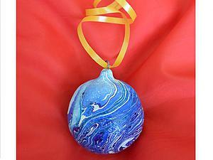 Мастерим «Новогодний шар» из папье-маше. Ярмарка Мастеров - ручная работа, handmade.