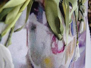 Объемные элементы вышивки: трапунто. Ярмарка Мастеров - ручная работа, handmade.