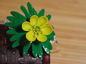 Видео мастер-класс: цветок весенник из полимерной глины. Ярмарка Мастеров - ручная работа, handmade.