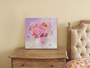 Как ухаживать за картиной, написанной масляными красками на холсте | Ярмарка Мастеров - ручная работа, handmade