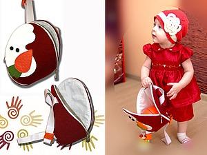 Мастер-класс: рюкзачок из фетра для девочки. Ярмарка Мастеров - ручная работа, handmade.
