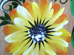 Видео мастер-класс: переходной мазок в Петриковской росписи. Ярмарка Мастеров - ручная работа, handmade.