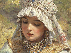 Русские красавицы в картинах художников | Ярмарка Мастеров - ручная работа, handmade
