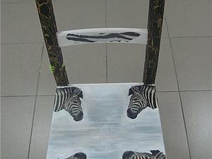 Декорируем стул «Вычурный» в технике декупаж. Ярмарка Мастеров - ручная работа, handmade.