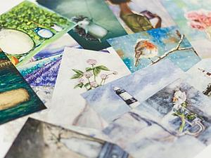 Розыгрыш открыток от автора рисунков | Ярмарка Мастеров - ручная работа, handmade