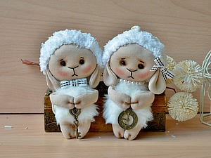 Шьем милую Овечку Бяшку. Ярмарка Мастеров - ручная работа, handmade.