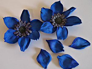 Делаем фантазийный цветок из фоамирана. Ярмарка Мастеров - ручная работа, handmade.