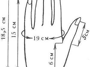 Как правильно снять мерки кисти рук для варежек, перчаток | Ярмарка Мастеров - ручная работа, handmade