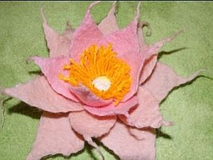 Цельноваляная Лилия | Ярмарка Мастеров - ручная работа, handmade