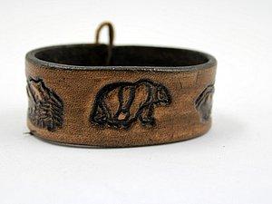 Кожаные браслеты по 330руб! | Ярмарка Мастеров - ручная работа, handmade