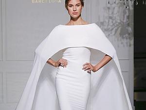 Прекрасная свадебная коллекция испанского модного дома Pronovias: 20 великолепных нарядов сезона осень-зима 2016-2017. Ярмарка Мастеров - ручная работа, handmade.