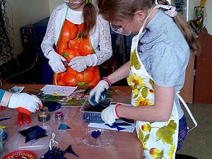 Мастер-класс по спеканию цветного стекла (фьюзинг) | Ярмарка Мастеров - ручная работа, handmade