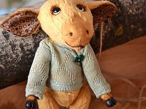 Шьем свитерок для мишки Тедди. Ярмарка Мастеров - ручная работа, handmade.