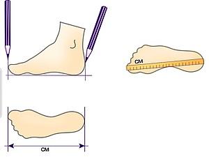 Важно правильно измерить длину стопы для заказа вязаной обуви.   Ярмарка Мастеров - ручная работа, handmade
