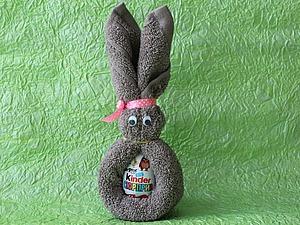 Видео-урок: делаем  пасхального кролика. Ярмарка Мастеров - ручная работа, handmade.