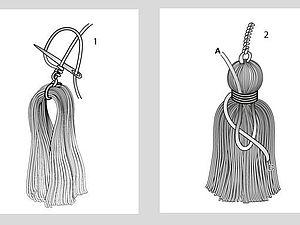 Как сделать кисти и шнуры? | Ярмарка Мастеров - ручная работа, handmade