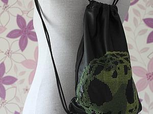 Создаем рюкзак с вышивкой крестом. Ярмарка Мастеров - ручная работа, handmade.