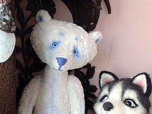 Скоро появится полярным медведь Мишка! | Ярмарка Мастеров - ручная работа, handmade