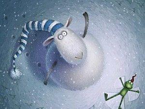 Мастер-класс по валянию картин из шерсти ( Овечка, белые мишки, снегири)   Ярмарка Мастеров - ручная работа, handmade