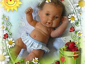 Малышок Елизарчик кукла реборн Инны Богдановой | Ярмарка Мастеров - ручная работа, handmade