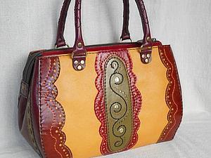 Курс по изготовлению сумок из кожи: Приемы художественной обработки кожи   Ярмарка Мастеров - ручная работа, handmade