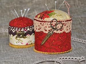 Мастерим игольницу-сувенир. Ярмарка Мастеров - ручная работа, handmade.