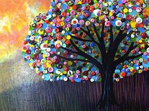 Пуговицы. Маленькое пространство для большого творчества. | Ярмарка Мастеров - ручная работа, handmade
