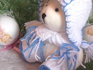 Предновогодний аукцион! Медвежонок Тундра. | Ярмарка Мастеров - ручная работа, handmade
