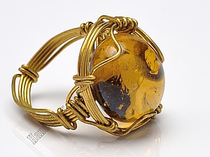 Властелин колец, или Как создать перстень из одного цельного куска проволоки | Ярмарка Мастеров - ручная работа, handmade