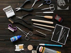 Основные инструменты для создания мишек Тедди. Мои личные фавориты. Ярмарка Мастеров - ручная работа, handmade.