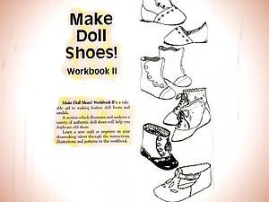 Винтажная кукольная обувь (выкройки)   Ярмарка Мастеров - ручная работа, handmade