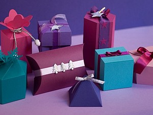 Подарочная упаковка. Декор штампами. | Ярмарка Мастеров - ручная работа, handmade