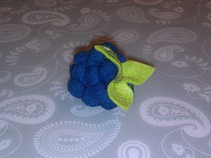 Шьем текстильную ягодку для куколки. Ярмарка Мастеров - ручная работа, handmade.