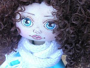 Эва...текстильная куколка. Розыгрыш конфетки). | Ярмарка Мастеров - ручная работа, handmade