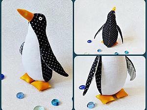 Большой пингвин своими руками