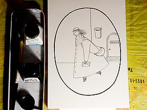 Сказочка про почтальона | Ярмарка Мастеров - ручная работа, handmade