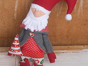"""Шьем милую игрушку """"Новогодний Дед"""". Ярмарка Мастеров - ручная работа, handmade."""