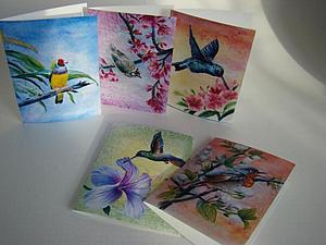 Новый набор поздравительных открыток!   Ярмарка Мастеров - ручная работа, handmade