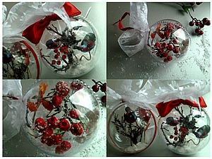 Декорирование новогодних шаров мастер класс