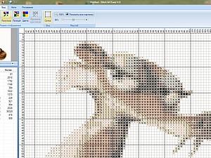 Программа для создания схем для вышивки (алгоритм составления). Ярмарка Мастеров - ручная работа, handmade.