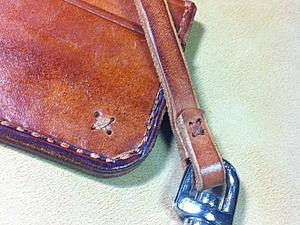 Карманный набор (кошелек+брелок). Коричневый. | Ярмарка Мастеров - ручная работа, handmade