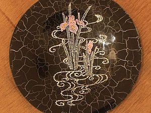 Обучающие МК по росписи тарелок в технике point-to-point   Ярмарка Мастеров - ручная работа, handmade