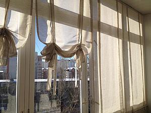 Как сшить шторы для лоджии фото