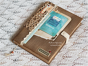 Блокнот Documented - too cute for words | Ярмарка Мастеров - ручная работа, handmade