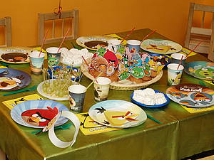 День рождения в стиле angry birds)))   Ярмарка Мастеров - ручная работа, handmade