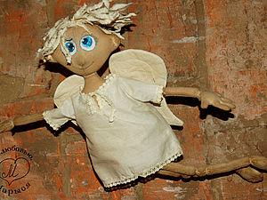 Мастер-класс для новичков: чердачная кукла-ангел Макарка. Часть вторая: делаем ручки и ножки. Ярмарка Мастеров - ручная работа, handmade.