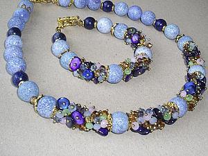 Завершен. Аукцион на ожерелье и браслет + подарок + акция | Ярмарка Мастеров - ручная работа, handmade