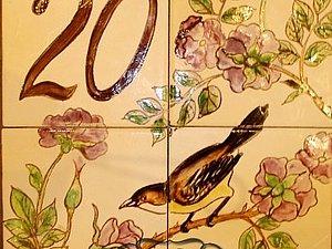 Таблички на дом,  расписанные вручную. | Ярмарка Мастеров - ручная работа, handmade